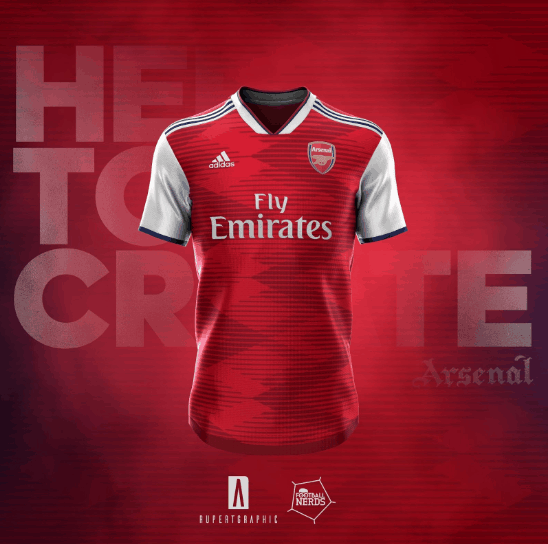 separation shoes b9f3d 9ba9a Amazing Adidas Arsenal 19-20 home, away & third kit concepts ...