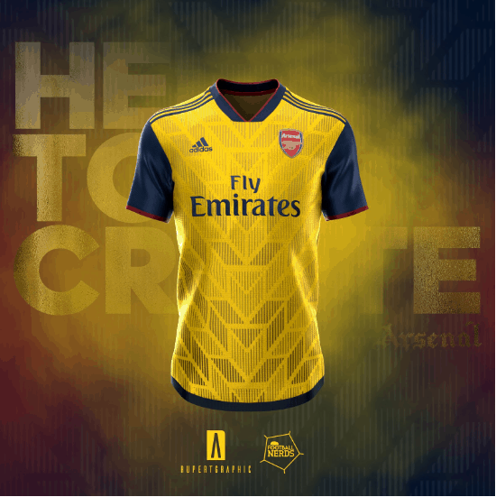4ae5f897a1c Amazing Adidas Arsenal 19-20 home, away & third kit concepts (Photo ...