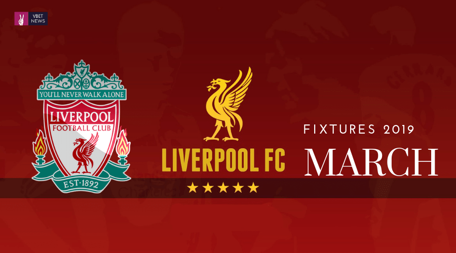 All Liverpool Fixtures In March Champions League And Premier League Title Race