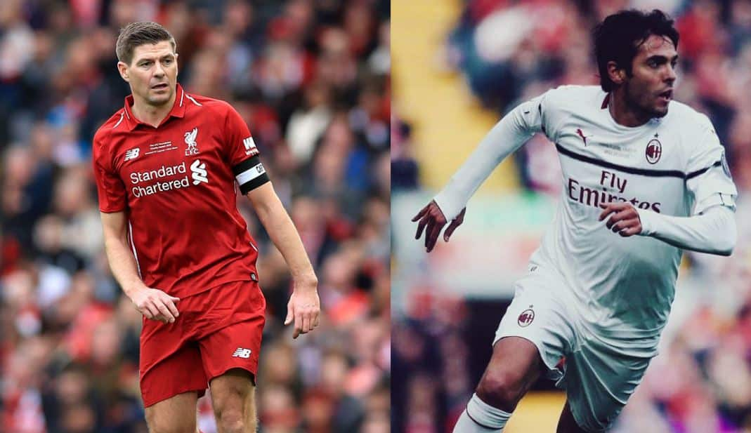 Liverpool And Milan Legends At Anfield Road Goals And Highlights
