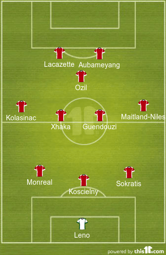 EPL: Arsenal vs Newcastle: Predicted starting line-ups from