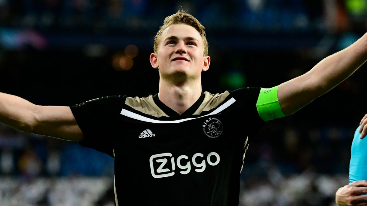 d9b2f6638 Cesc Fabregas has congratulated Ajax centre-back Matthijs de Ligt on  becoming the youngest player to captain a team in a Champions League  semi-final – a ...