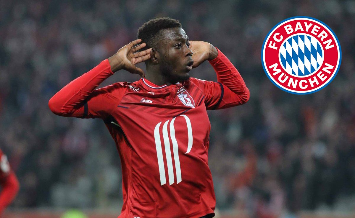 Image result for nicolas pepe bayern