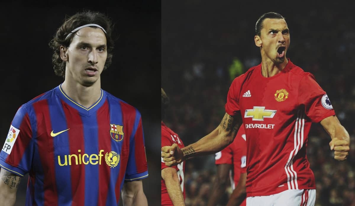 7 Stars Who Have Played For Both Barcelona And Manchester United