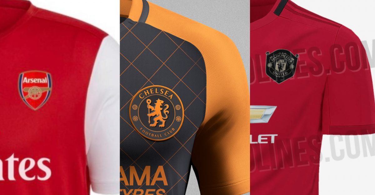 pretty nice ba4bf e9dc8 2019/20 kits: New shirts leaked so far – Manchester United ...