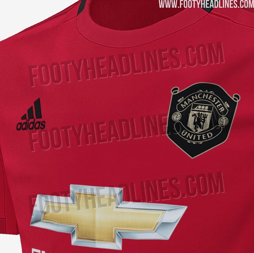 quality design b99dd 7197a Manchester United 19-20 Home Kit leaked online (PHOTO ...
