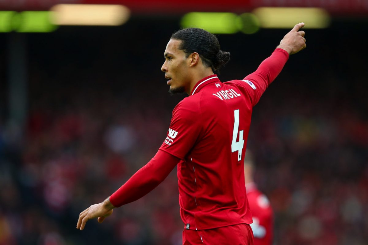 Virgil van Dijk could leave Liverpool if they lose Champions