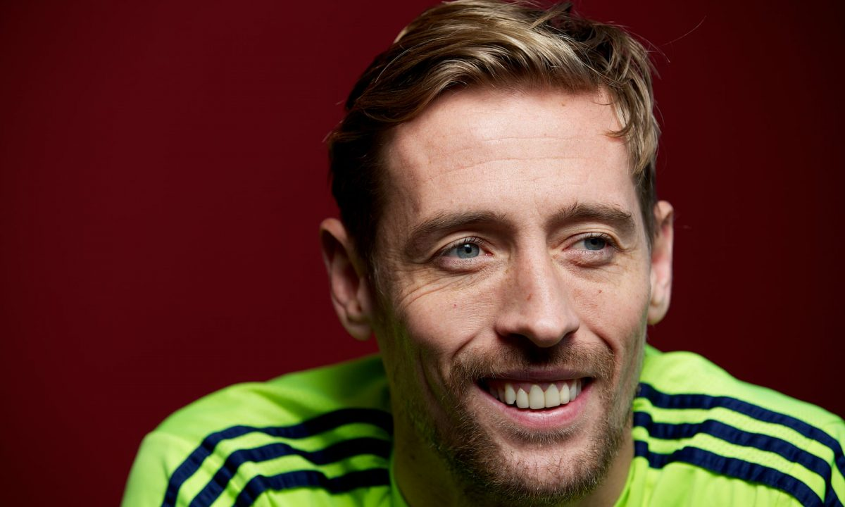 Former England star Peter Crouch