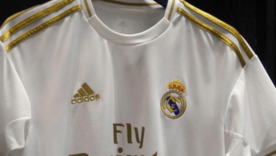 super popular e0b8b 3e18a Real Madrid home away and third kit for 2019/20 season ...