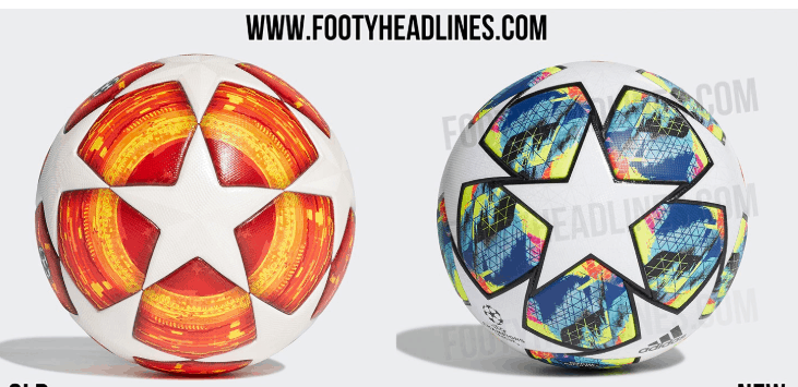 2019 20 uefa champions league ball leaked photos 2019 20 uefa champions league ball