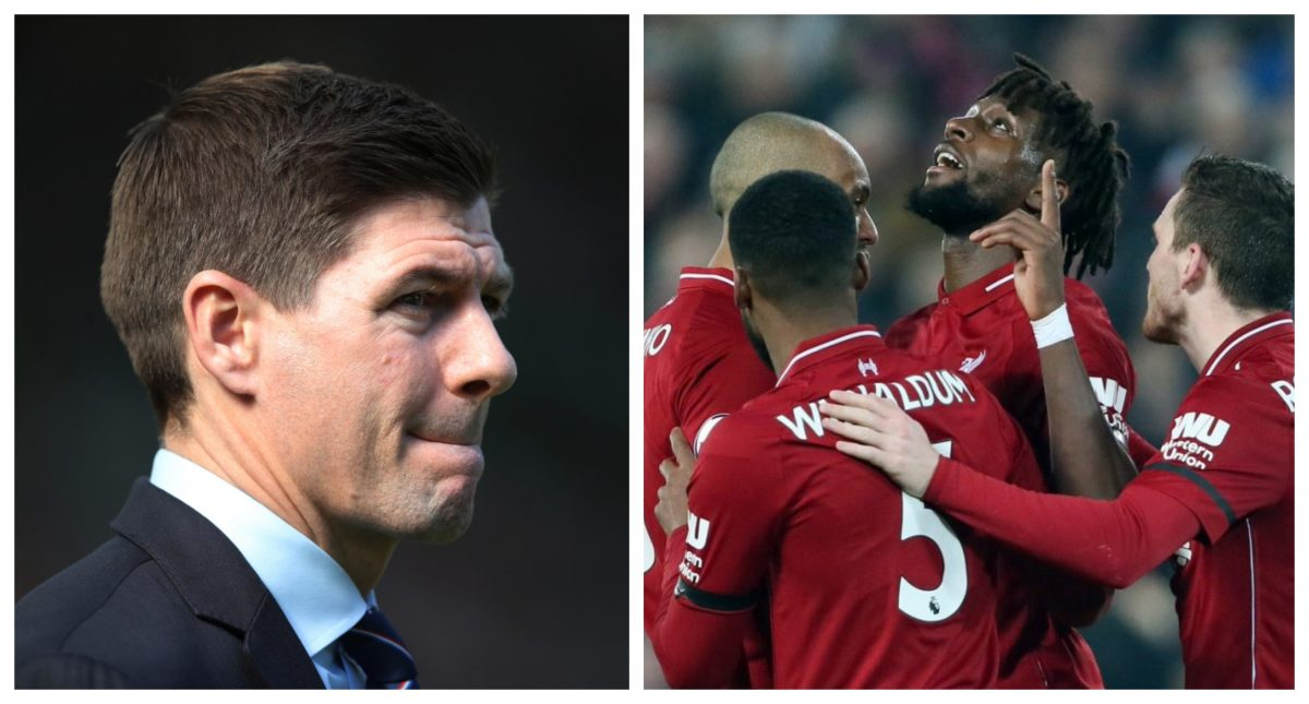 Steven Gerrard Reveals What He Did When Liverpool Scored 4th