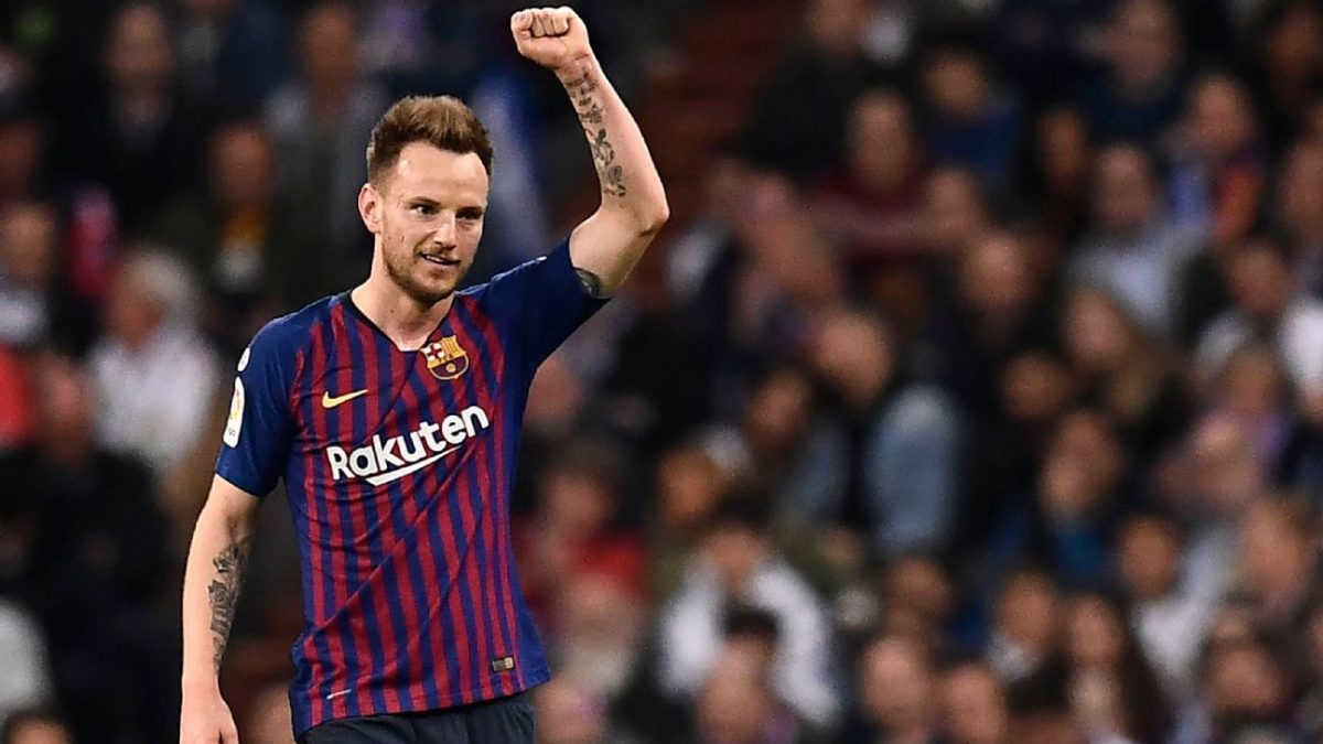9dba841ca91 Barcelona midfielder Ivan Rakitic has been linked with a move to Premier  League side Manchester United. It has been reported that the Red Devils are  ...