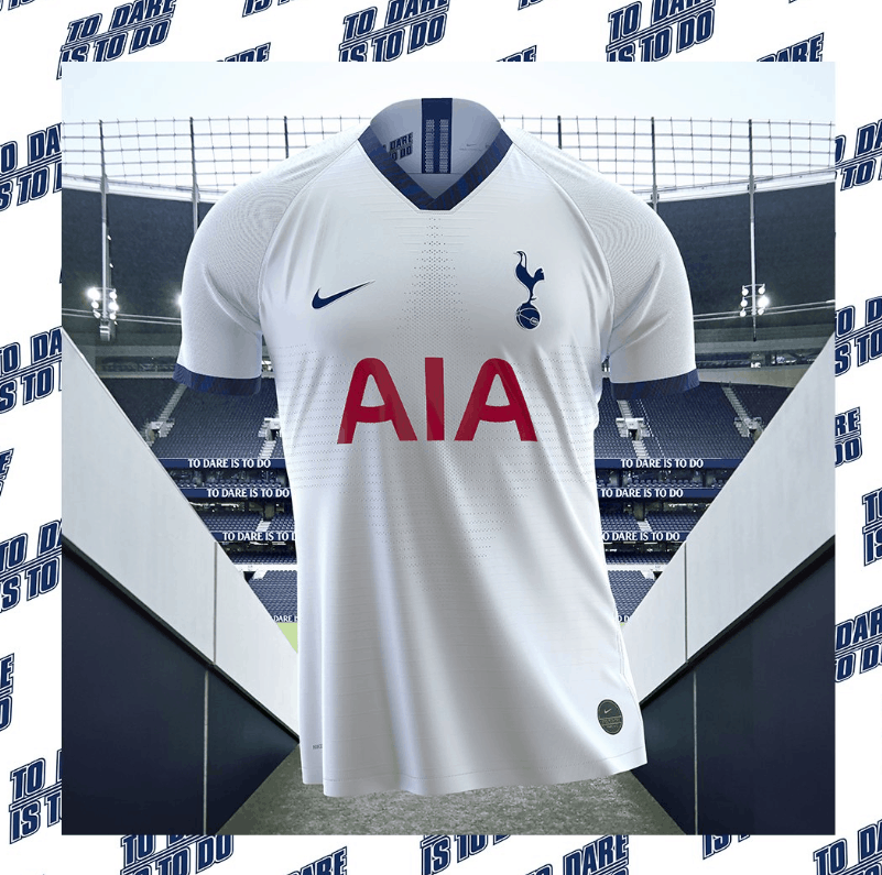 competitive price 13aff 4d983 OFFICIAL: Tottenham new home and away kits for 19/20 season ...