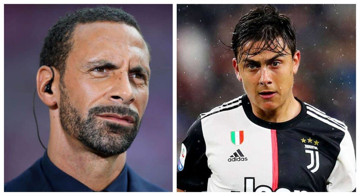 Image result for rio ferdinand on dybala