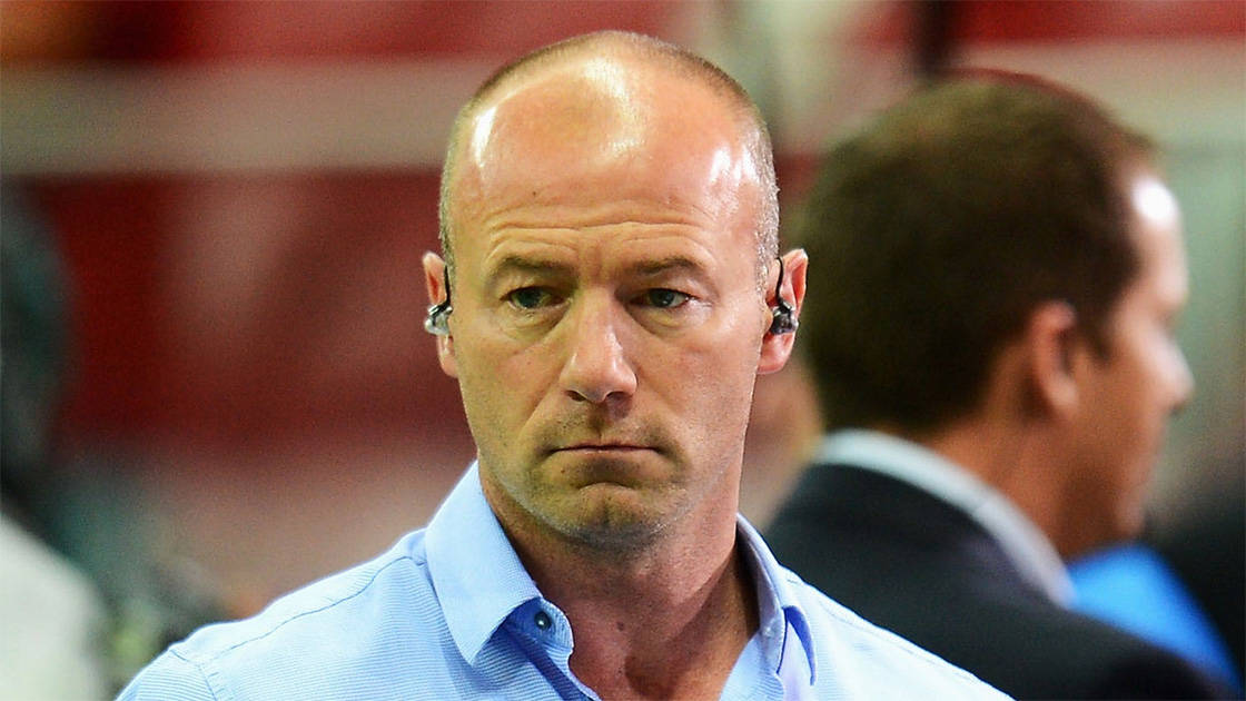 Alan Shearer Staring Looking Unhappy