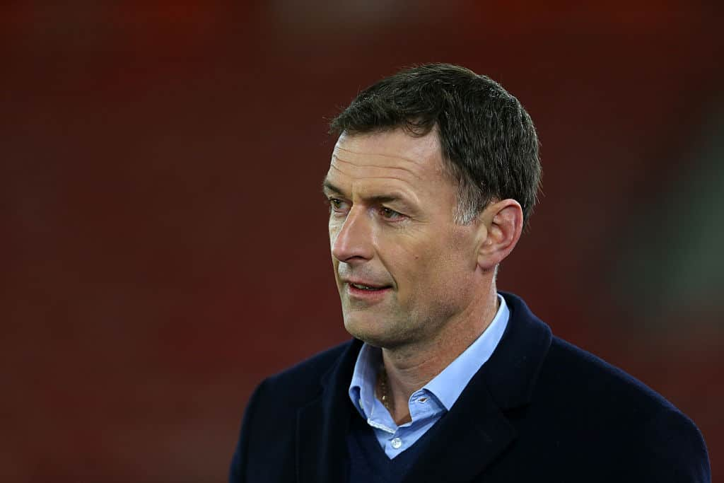 SOUTHAMPTON, ENGLAND - NOVEMBER 10: Chris Sutton during the U21 International Friendly match between England and Italy at St Mary's Stadium on November 10, 2016 in Southampton, England. (Photo by Catherine Ivill - AMA/Getty Images)