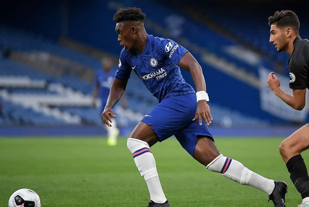 Callum Hudson-Odoi scores for Chelsea Under-23s