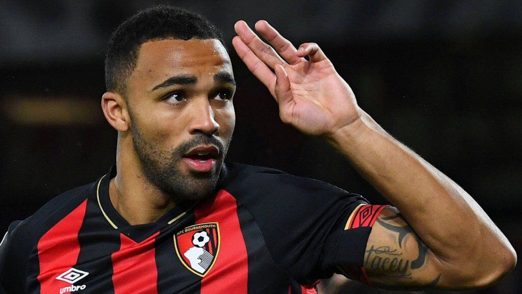 Callum Wilson in action for Bournemouth
