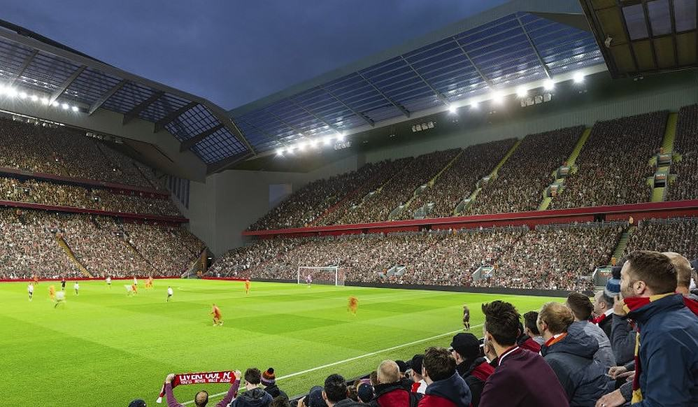 Liverpool Release First Images Of Proposed 60m Anfield Redevelopment