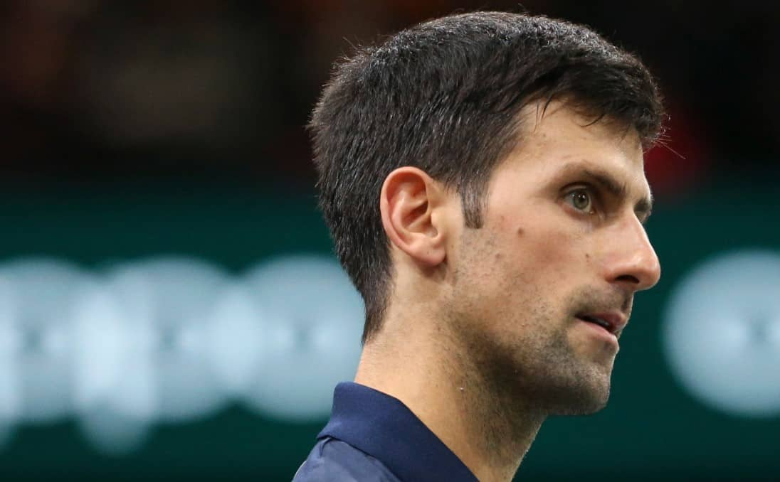Tennis star Novak Djokovic