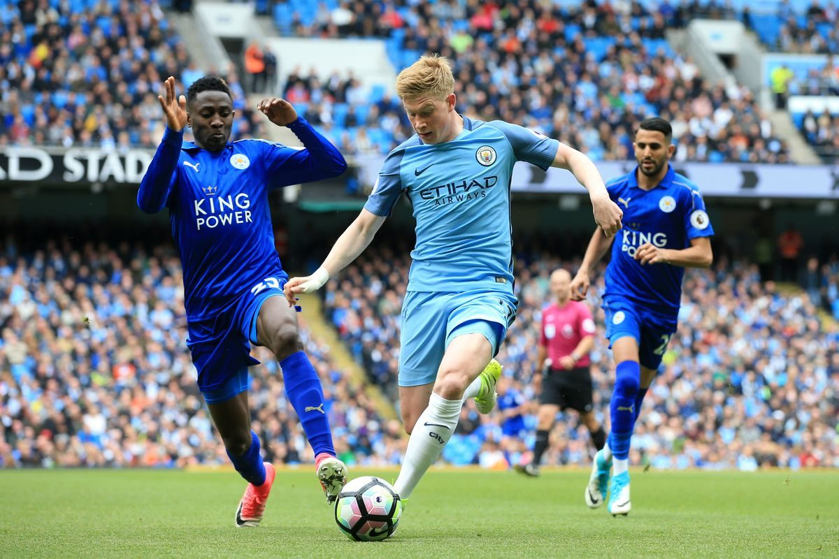Pl Manchester City Vs Leicester City Starting Lineups