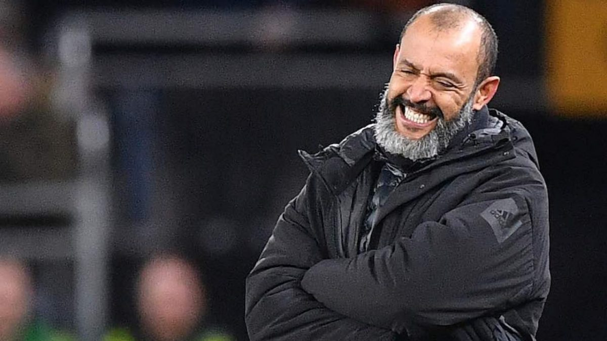 Nuno Espirito Santo during Wolves match