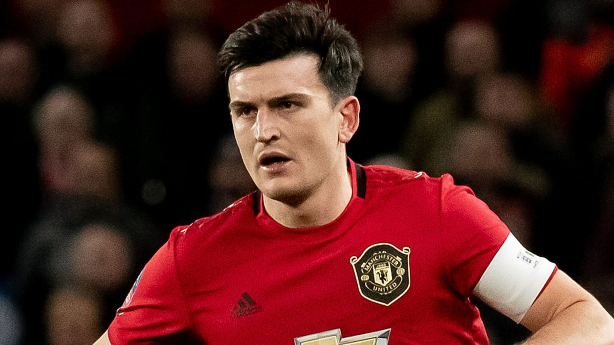 Manchester United defender Harry Maguire during Premier League game