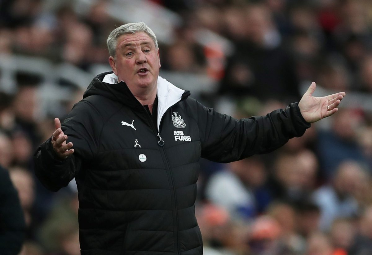 """Newcastle United manager Steve Bruce Action Images via Reuters/Lee Smith EDITORIAL USE ONLY. No use with unauthorized audio, video, data, fixture lists, club/league logos or """"live"""" services."""