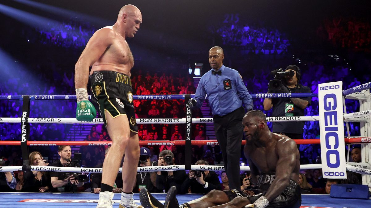 Tyson Fury beats Deontay Wilder in their rematch