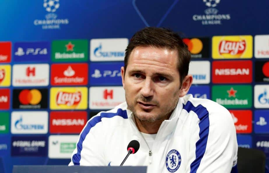 Frank Lampard during press conference