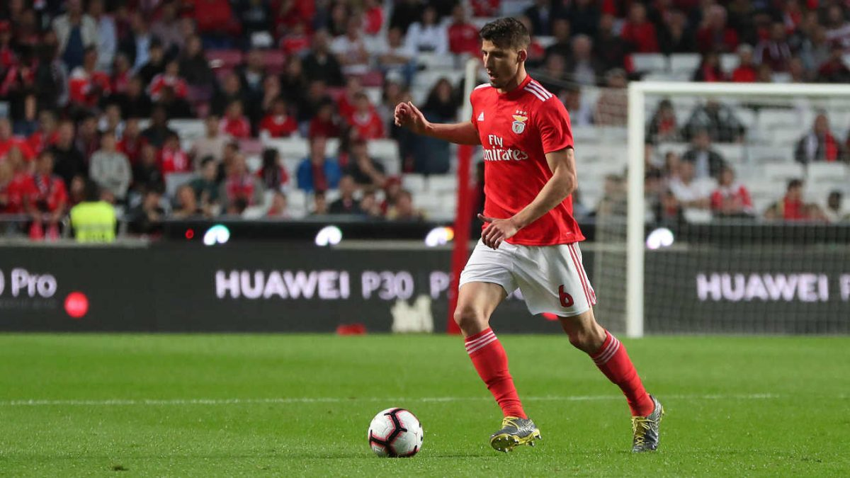Ruben Dias in action for Benfica