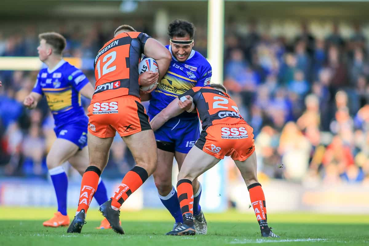Betfred Super League Round 15 Leeds Rhinos vs Castleford Tigers