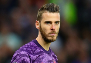 David De Gea during Manchester United game