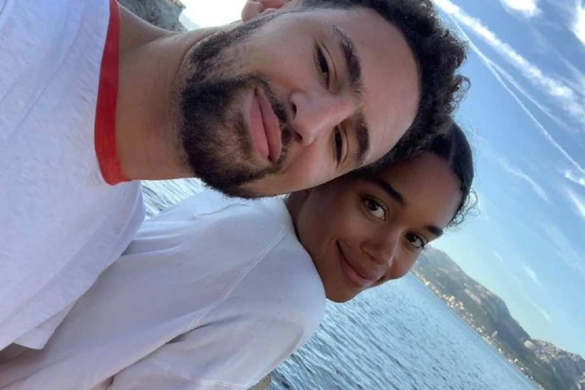 Hollywood Netflix show star Laura Harrier and Golden State Warriors star Klay Thompson