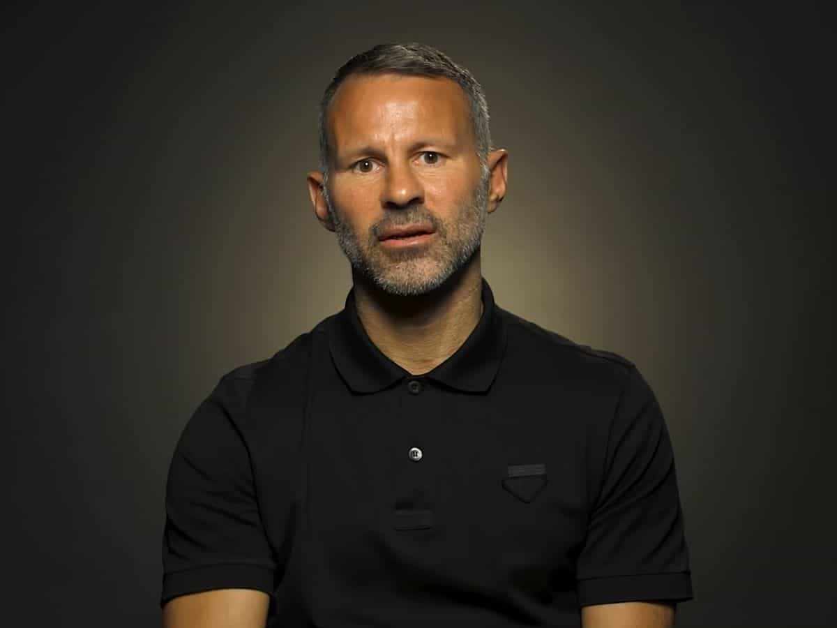 Wales manager and Manchester United legend Ryan Giggs' photoshoot