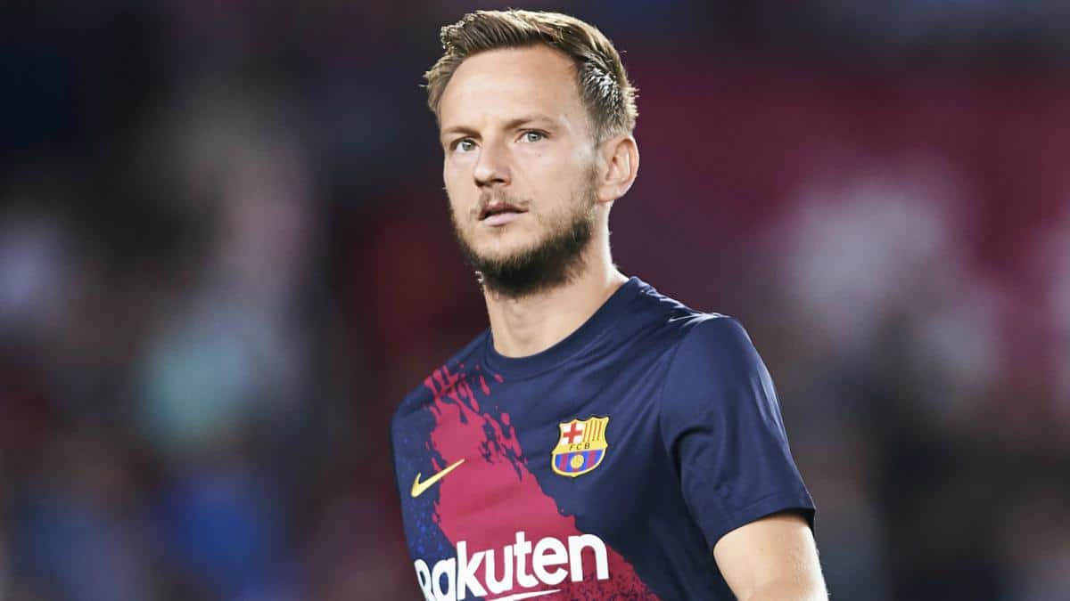 Ivan Rakitic could leave Barcelona this summer (Image - Diario As)