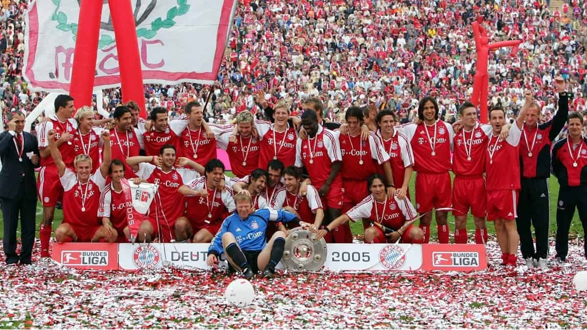 Bayern Munich German Champion - Season 2004/2005