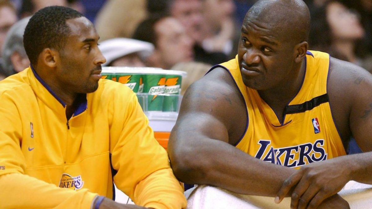 Kobe Bryant and Shaquille O'Neal (Image - Associated Press)