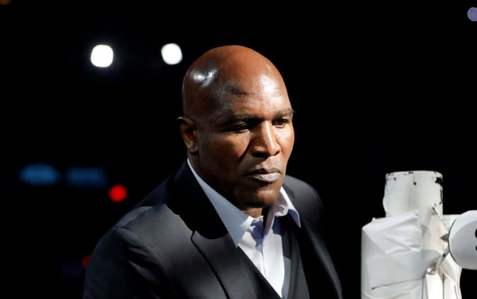 Evander Holyfield will fight in exhibition matches to raise support for Unite4OurFight.PHOTO: REUTERS