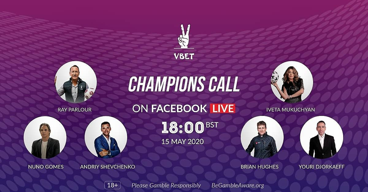 VBET Champions Call line up: