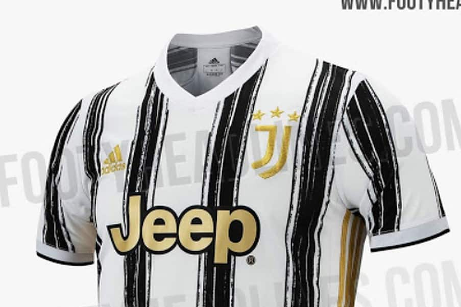 Juventus home kit 2020/21 according to Footy Headlines