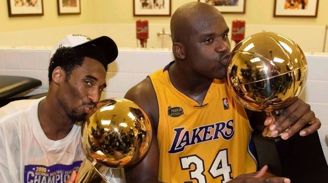 Kobe Bryant and Shaquille O'Neal (Image - REUTERS/Mike Blake/File Photo)