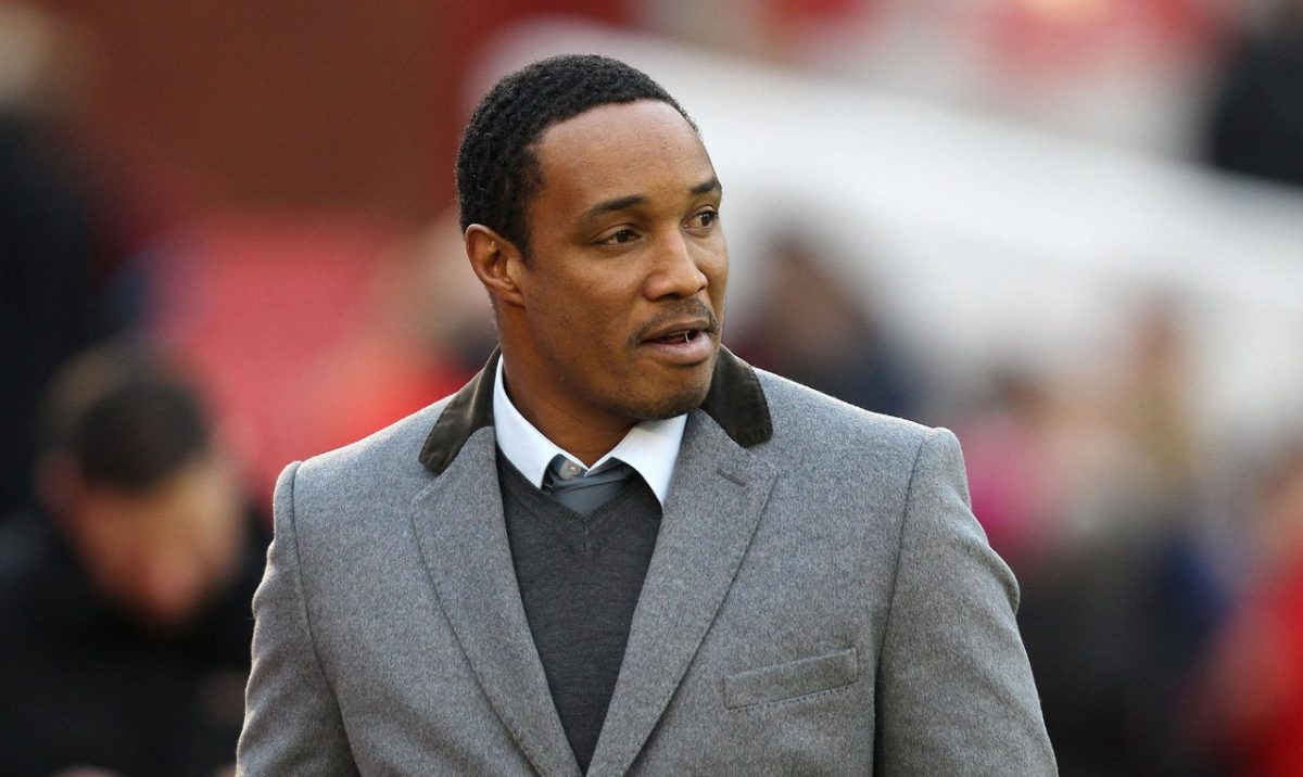 Former Manchester United player Paul Ince
