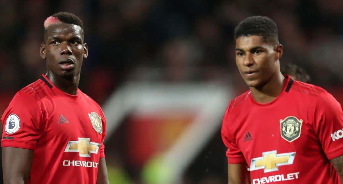 Paul Pogba Marcus Rashford