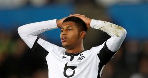 Liverpool player Rhian Brewster on loan at Swansea City