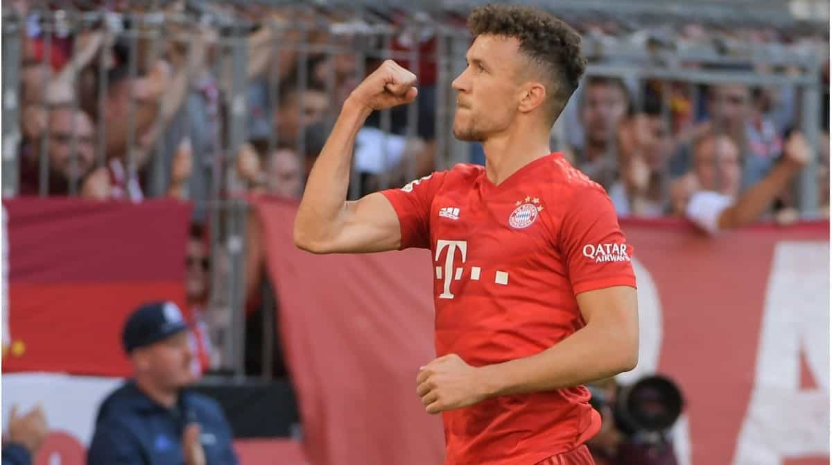Ivan Perisic in action for Bayern Munich