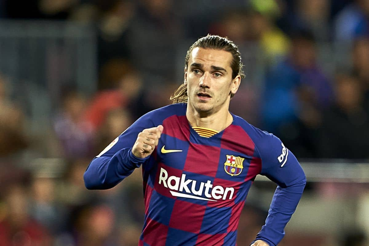 Griezmann in action for Barcelona