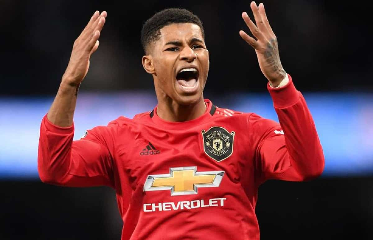 Marcus Rashford sends message to Leeds United after Premier League promotion but quickly deletes the tweet