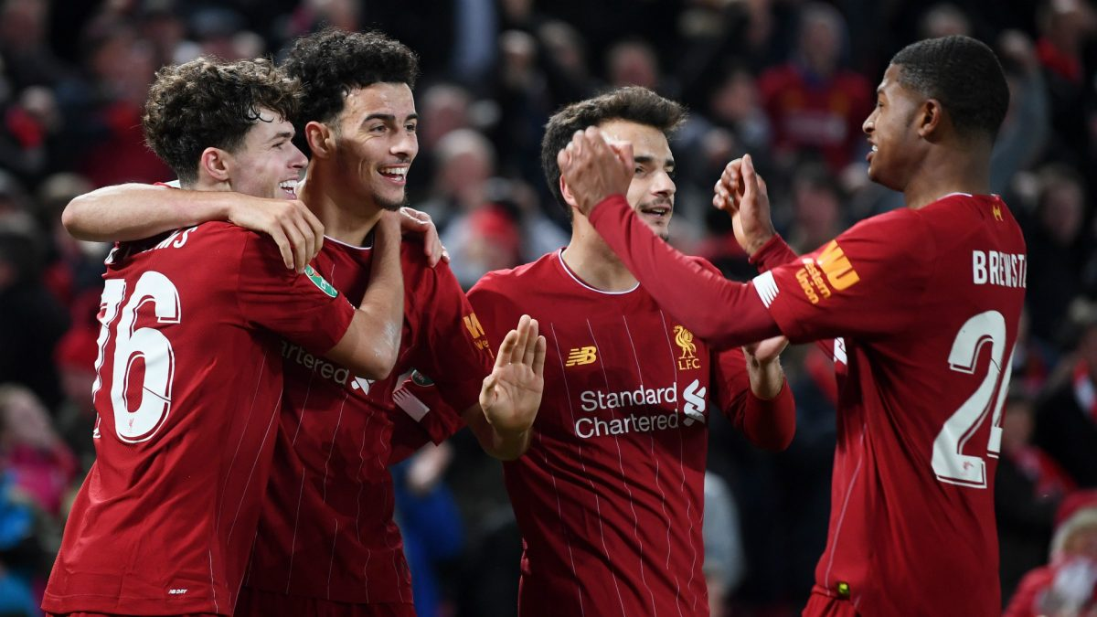 Liverpool young squad