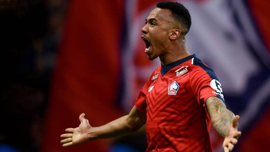 Gabriel on action for Lille